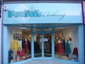 Prefab Clothing on Albany Road, Cardiff