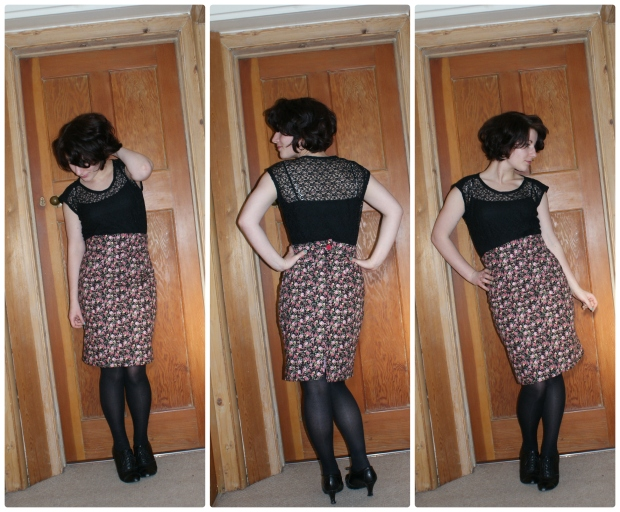 gertie skirt and top