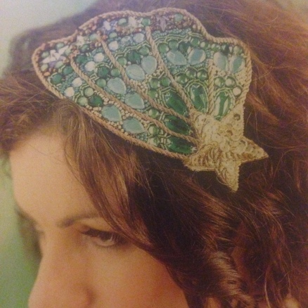Embellished headpiece | Everything Oz/Mollie Makes
