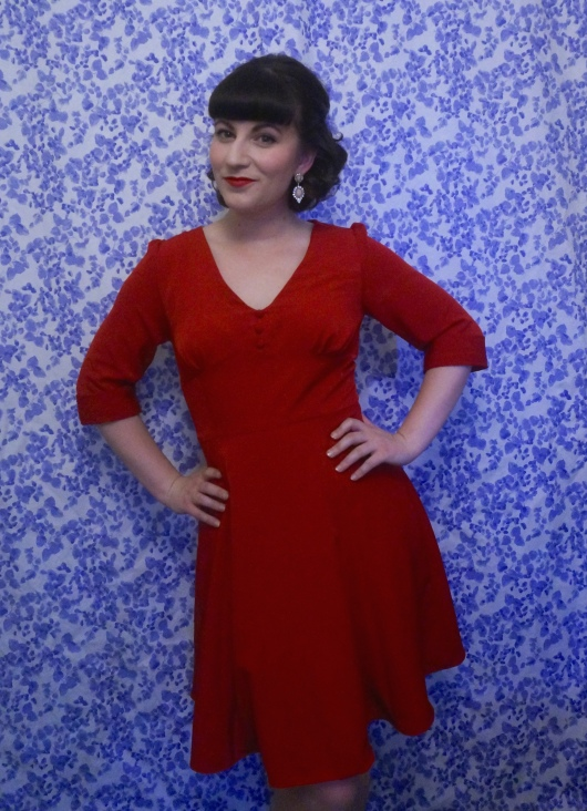 Sew Over It 1940s tea dress